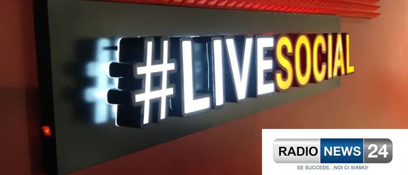 INTERVISTA SU RADIONEWS24 – PROGRAMMA #LIVESOCIAL